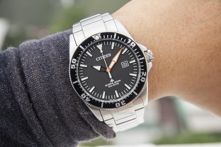 Review chiếc đồng hồ lặn (BN0100-51E) hiếm hoi của Citizen - Ảnh: 8