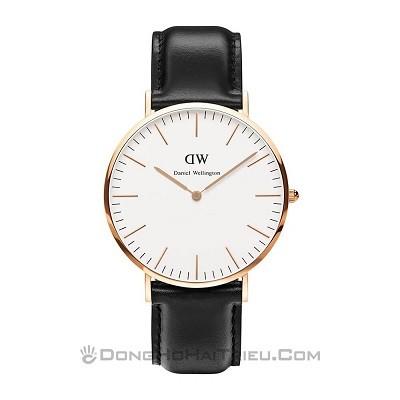 Thay pin đồng hồ DW (Daniel Wellington) miễn phí 100% tại Hải Triều - Ảnh: Daniel Wellington DW00100007 – 0107DW