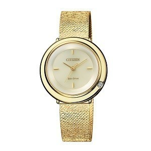 10+ đồng hồ Citizen nữ đính kim cương, máy Eco-Drive cực hot - Ảnh: Citizen EM0642-87P