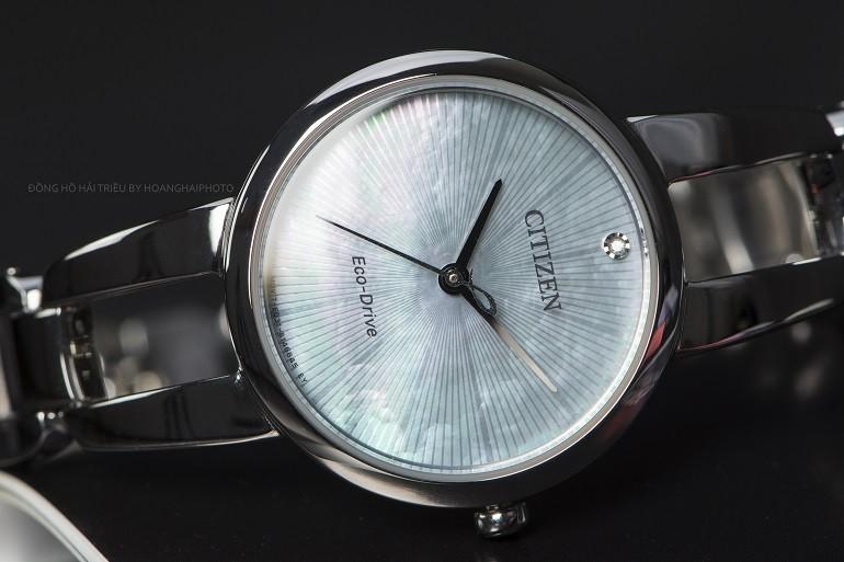 10+ đồng hồ Citizen nữ đính kim cương, máy Eco-Drive cực hot - Ảnh: 1