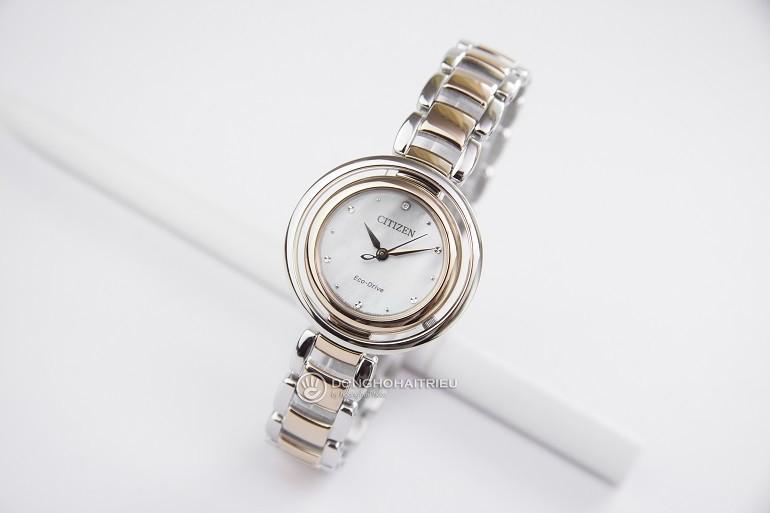 10+ đồng hồ Citizen nữ đính kim cương, máy Eco-Drive cực hot - Ảnh: 2
