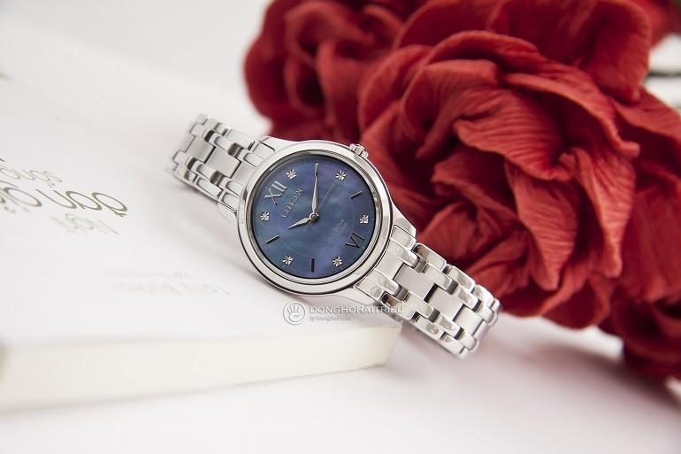 10+ đồng hồ Citizen nữ đính kim cương, máy Eco-Drive cực hot - Ảnh: 5