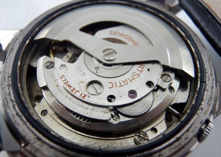 bộ máy 6606B của đồng hồ Seiko 5 phiên bản 1963