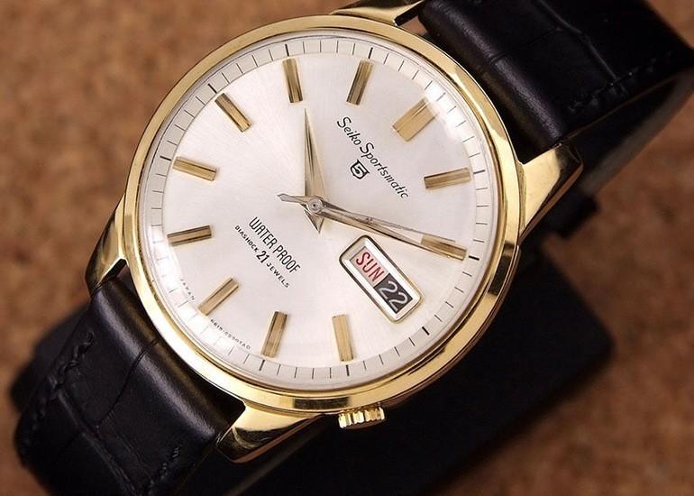 đồng hồ Seiko 5 phiên bản 1964 không có ký tự Gyro