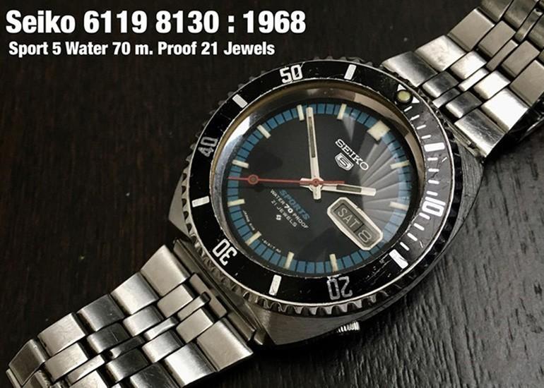 đồng hồ Seiko 5 Sport phiên bản 1968