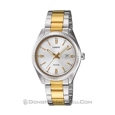 30 mẫu đồng hồ chính hãng giá dưới 2 triệu, miễn phí thay pin - Ảnh: Casio LTP-1302SG-7AVDF