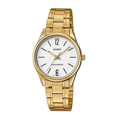 30 mẫu đồng hồ chính hãng giá dưới 2 triệu, miễn phí thay pin - Ảnh: Casio LTP-V005G-7BUDF
