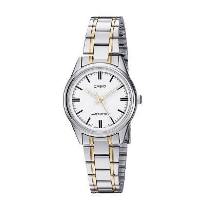 30 mẫu đồng hồ chính hãng giá dưới 2 triệu, miễn phí thay pin - Ảnh: Casio LTP-V005SG-7AUDF