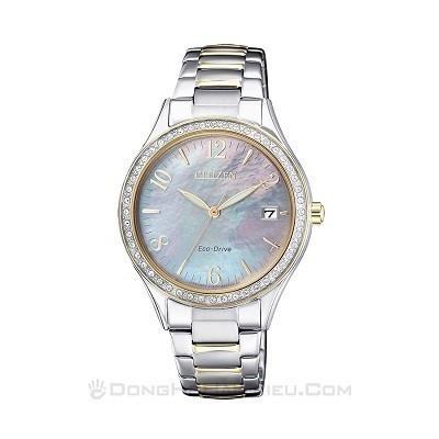 48 mẫu đồng hồ xà cừ nữ quà tặng 20 tháng 10, có ưu đãi kép - Ảnh: Citizen EO1184-81D