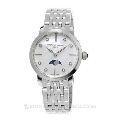 48 mẫu đồng hồ xà cừ nữ quà tặng 20 tháng 10, có ưu đãi kép - Ảnh: Frederique Constant FC-206MPWD1S6B