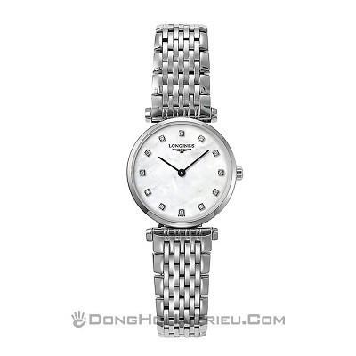 48 mẫu đồng hồ xà cừ nữ quà tặng 20 tháng 10, có ưu đãi kép - Ảnh: Longines L4.209.4.87.6