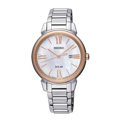 48 mẫu đồng hồ xà cừ nữ quà tặng 20 tháng 10, có ưu đãi kép - Ảnh: Seiko SUT326P1