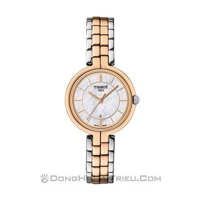48 mẫu đồng hồ xà cừ nữ quà tặng 20 tháng 10, có ưu đãi kép - Ảnh: Tissot T094.210.22.111.00