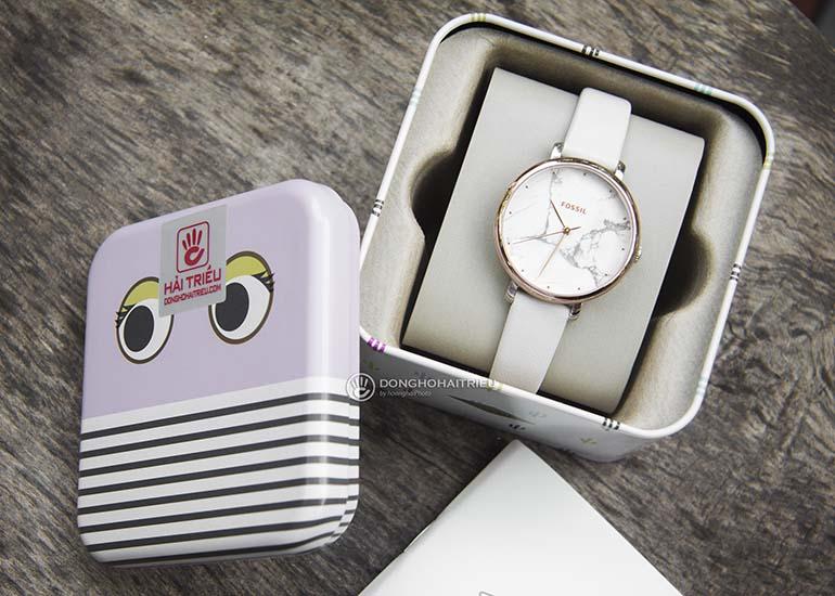 quà tặng 20-10 cho bạn thân nữ - đồng hồ nữ dây da