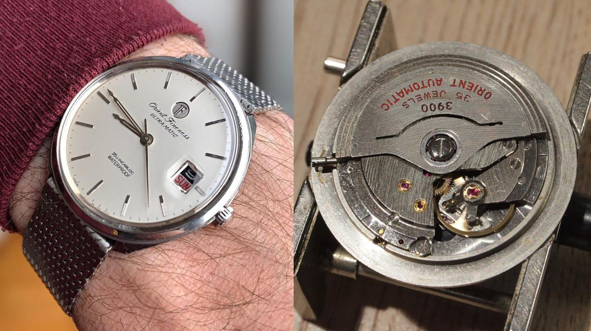 Orient Fineness Ultra Matic 35J - 1967