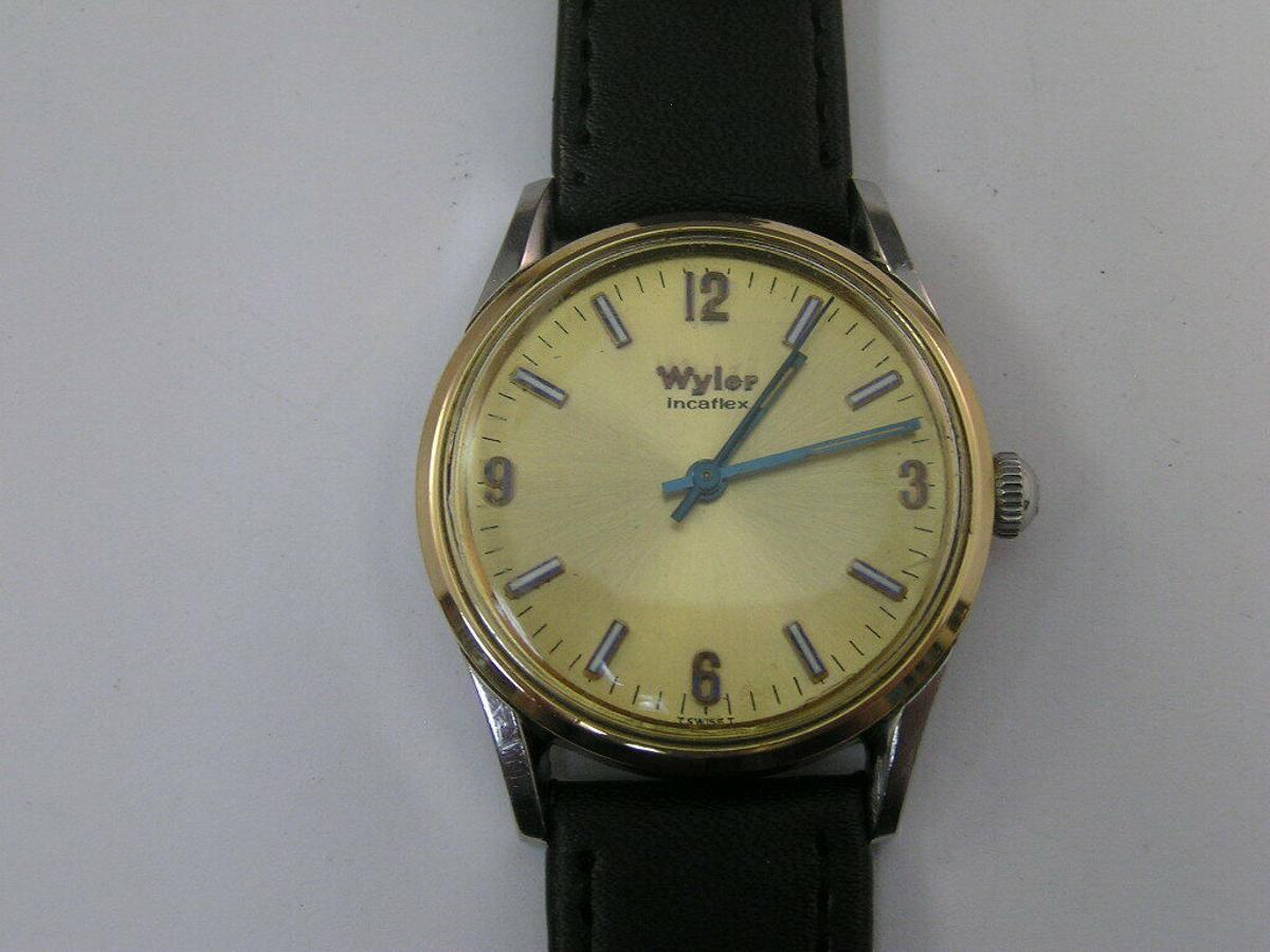 Wyler Incaflex Lifeguard 1960 size 32mm