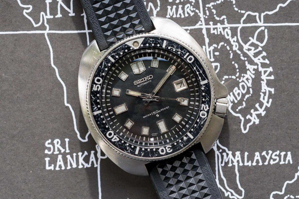 Seiko 6105 1970 quân đội Mỹ