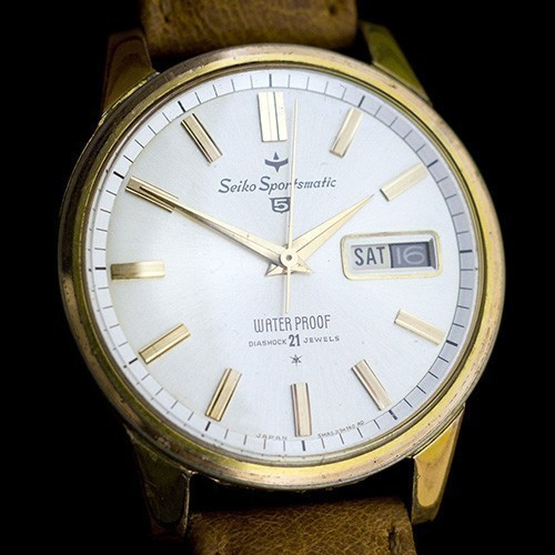 đồng hồ Seiko 5 phiên bản 1963 tuy hư hại vỏ ngoài nhưng vẫn chạy tốt