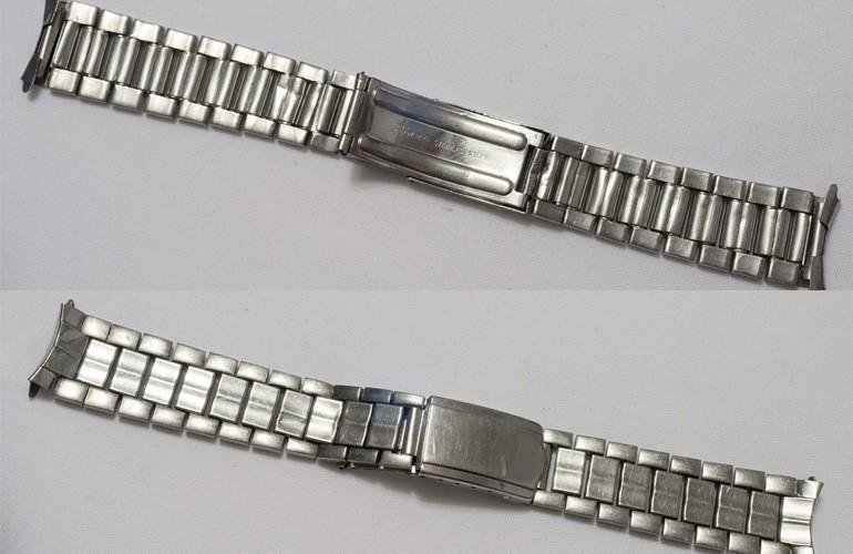 dây kim loại của đồng hồ Seiko 5 phiên bản 1963 có chất lượng khá kém, dễ bị hư hỏng