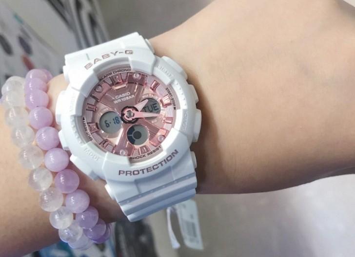 Đồng hồ nữ Baby-G BA-130-7A1DR giá rẻ, thay pin miễn phí - Ảnh 1