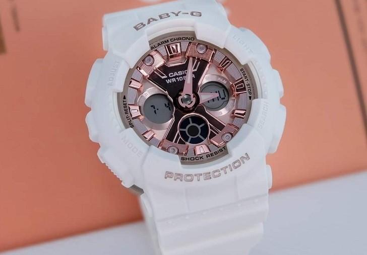 Đồng hồ nữ Baby-G BA-130-7A1DR giá rẻ, thay pin miễn phí - Ảnh 6