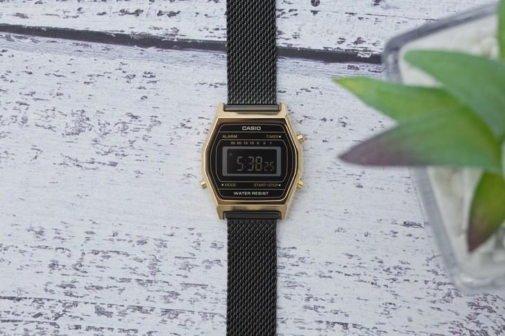 Đồng hồ nữ Casio LA690WEMB-1BDF giá rẻ, thay pin miễn phí - Ảnh 1