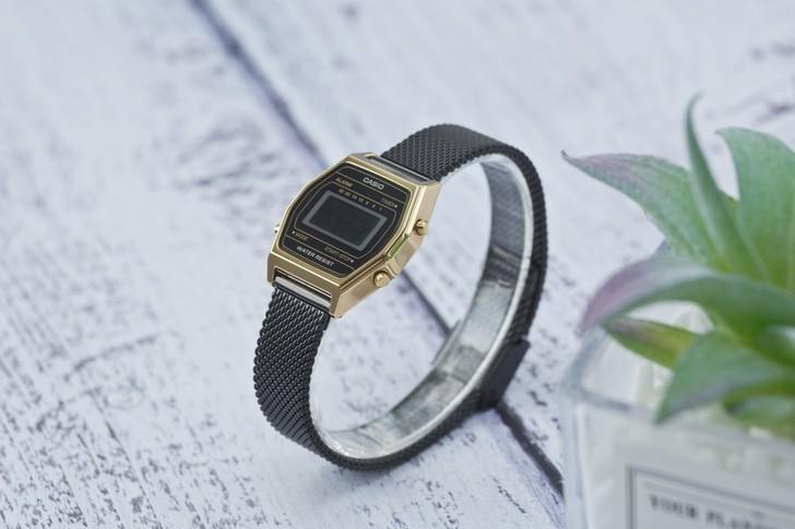 Đồng hồ nữ Casio LA690WEMB-1BDF giá rẻ, thay pin miễn phí - Ảnh 3