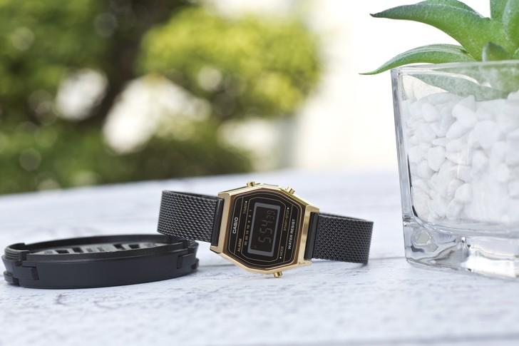 Đồng hồ nữ Casio LA690WEMB-1BDF giá rẻ, thay pin miễn phí - Ảnh 2