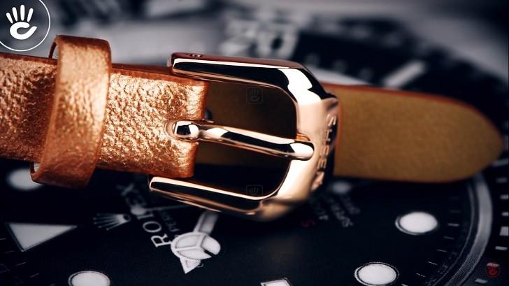 Đồng hồ nữ Casio SHE-4055PGL-7BUDF đính đá sang trọng - Ảnh 4