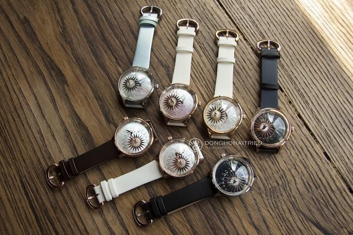 Đồng hồ ba lê Fouetté OR-5 có tượng nàng vũ công chuyển động - Ảnh: 2