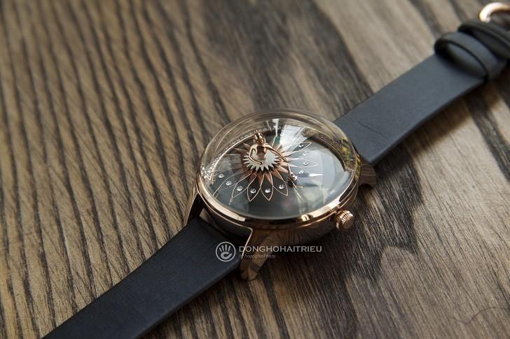 Đồng hồ ba lê Fouetté OR-5 có tượng nàng vũ công chuyển động - Ảnh: 3