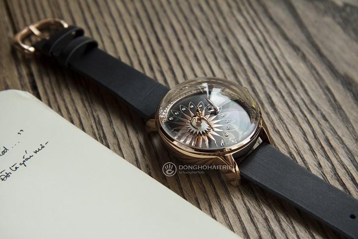 Đồng hồ ba lê Fouetté OR-5 có tượng nàng vũ công chuyển động - Ảnh: 4