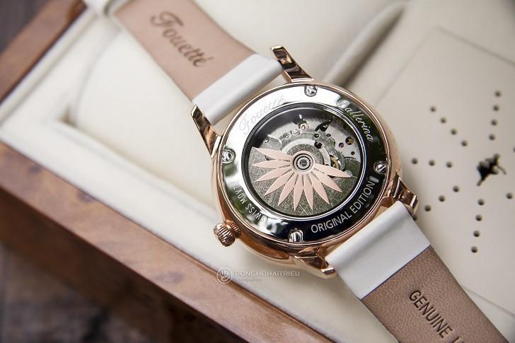Đồng hồ ba lê Fouetté OR-5 có tượng nàng vũ công chuyển động - Ảnh: 6