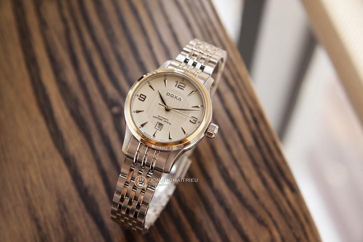 Đồng hồ cơ cao cấp Doxa D148TCM đến từ thương hiệu 130 năm - Ảnh: 1