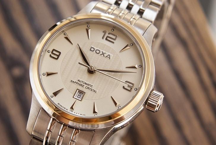 Đồng hồ cơ cao cấp Doxa D148TCM đến từ thương hiệu 130 năm - Ảnh: 3