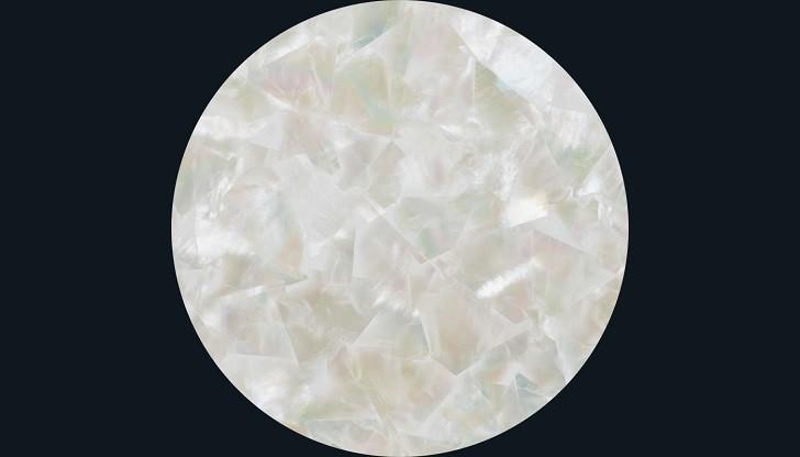 Đồng hồ đính kim cương Doxa D151RMW, khảm xà cừ thiên nhiên - Ảnh: 3