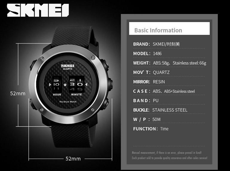 Đồng hồ Skmei Trung Quốc, sao chép 95% thiết kế của Casio - Ảnh: 5