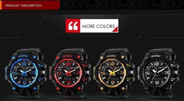 Đồng hồ Skmei Trung Quốc, sao chép 95% thiết kế của Casio - Ảnh: 1
