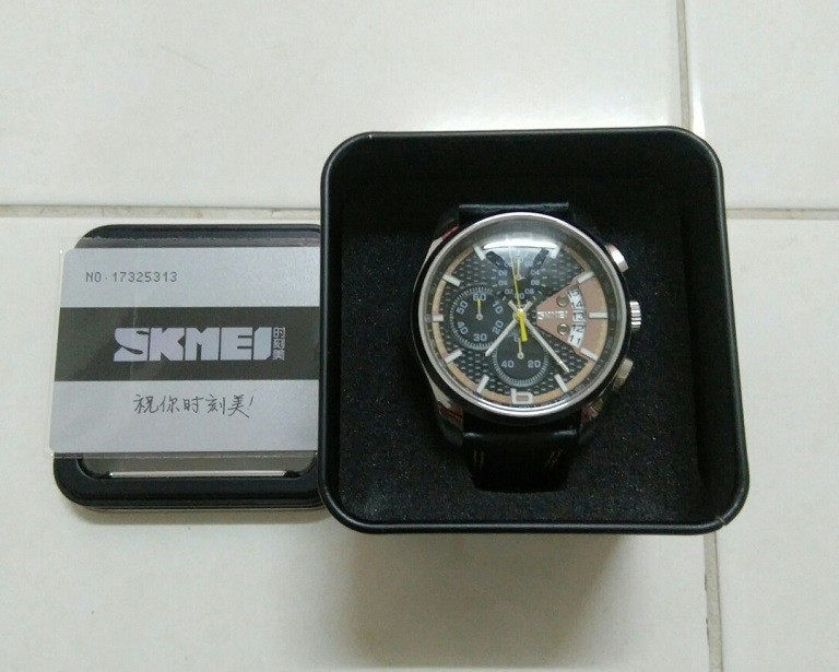 Đồng hồ Skmei Trung Quốc, sao chép 95% thiết kế của Casio - Ảnh: 4