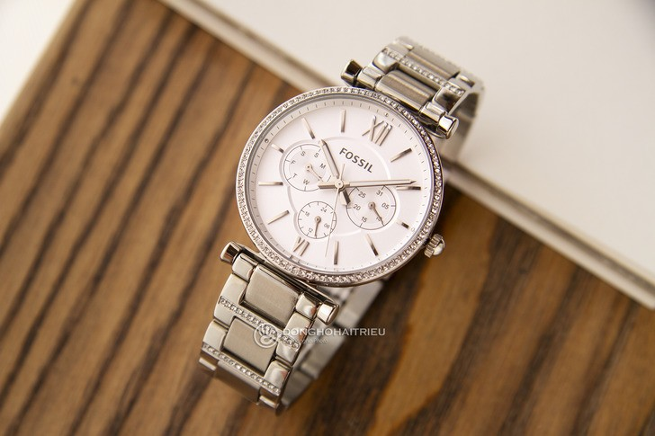 Đồng hồ nữ Fossil ES4541 đính pha lê tinh xảo, sang trọng - Ảnh 1