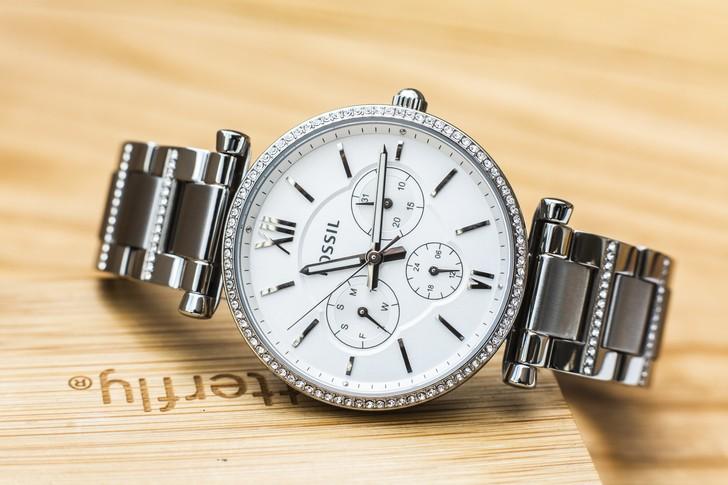 Đồng hồ nữ Fossil ES4541 đính pha lê tinh xảo, sang trọng - Ảnh 3