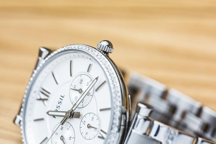 Đồng hồ nữ Fossil ES4541 đính pha lê tinh xảo, sang trọng - Ảnh 7