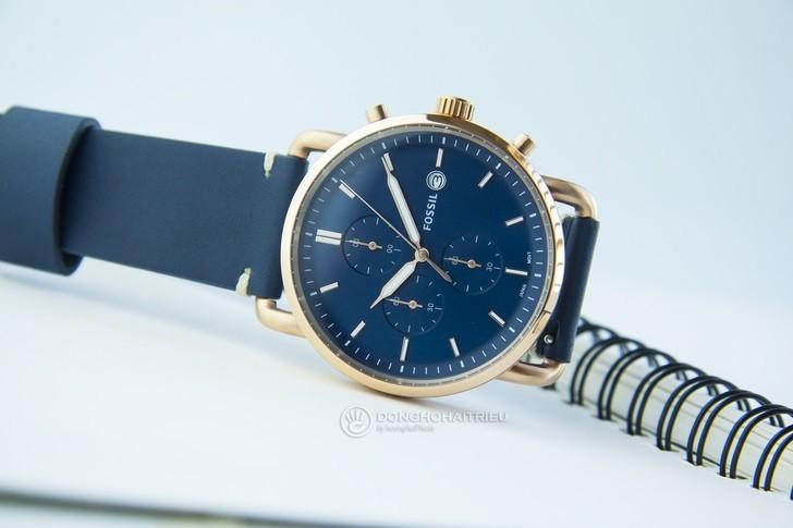 Đồng hồ Fossil FS5404 thời trang, chức năng Chronograph - Ảnh 3