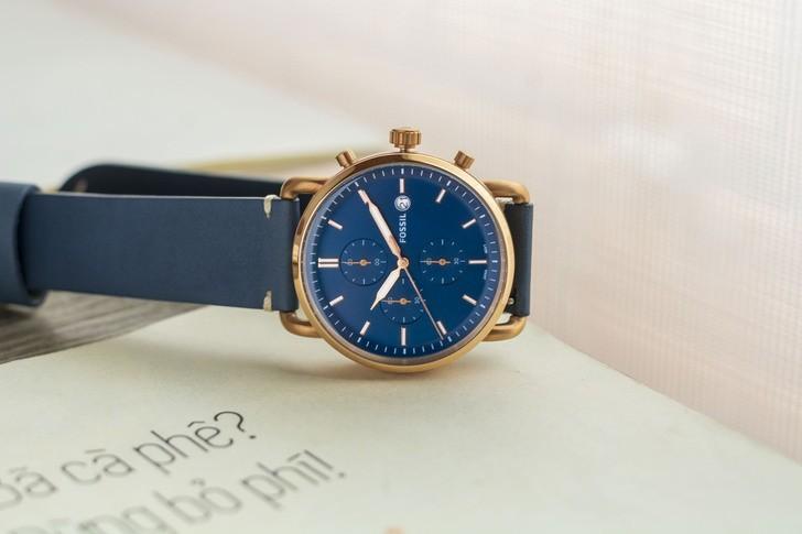 Đồng hồ Fossil FS5404 thời trang, chức năng Chronograph - Ảnh 1