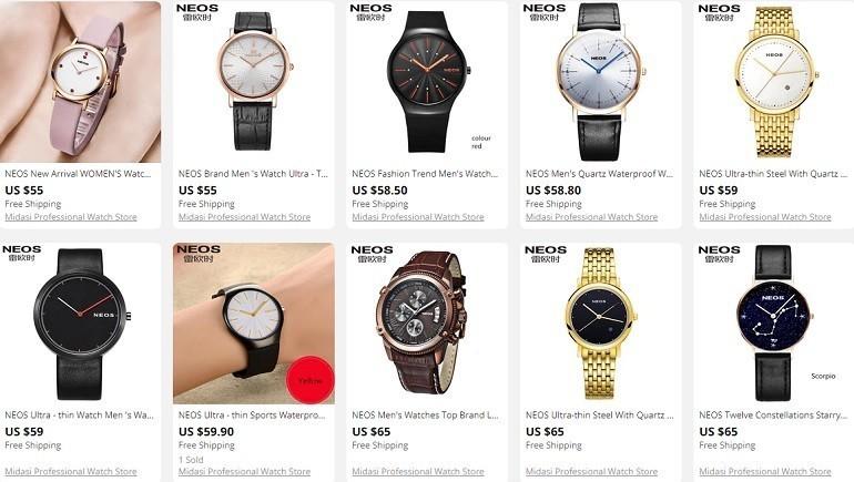 Mua đồng hồ Neos giá rẻ, xuất xứ 100% Trung Quốc và cái kết - Ảnh: 3