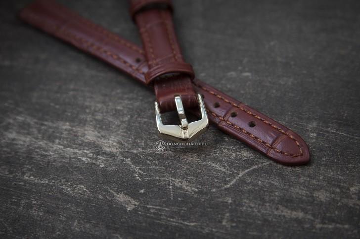 Muốn không bị hôi tay thì chọn dây da đồng hồ Hirsch Duke - Ảnh: 2
