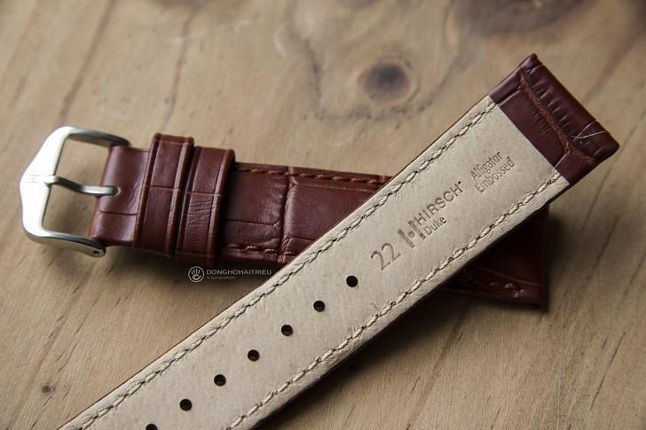 Muốn không bị hôi tay thì chọn dây da đồng hồ Hirsch Duke - Ảnh: 3