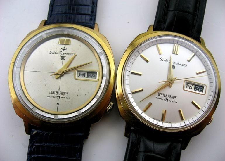 đồng hồ Seiko 5 phiên bản 1963 và 1964