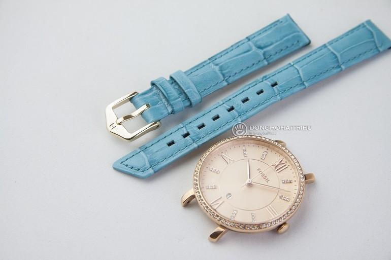 Thay dây da đồng hồ Fossil chính hãng, miễn phí công thay - Ảnh: 4