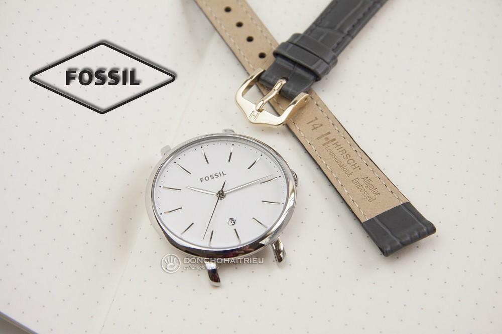 thay day da dong ho fossil chinh hang mien phi cong thay FOSSIL ES4368 HIRSCH LOUISIANALOOK